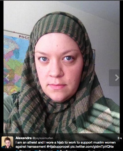 Шведки надели хиджабы (Фото)