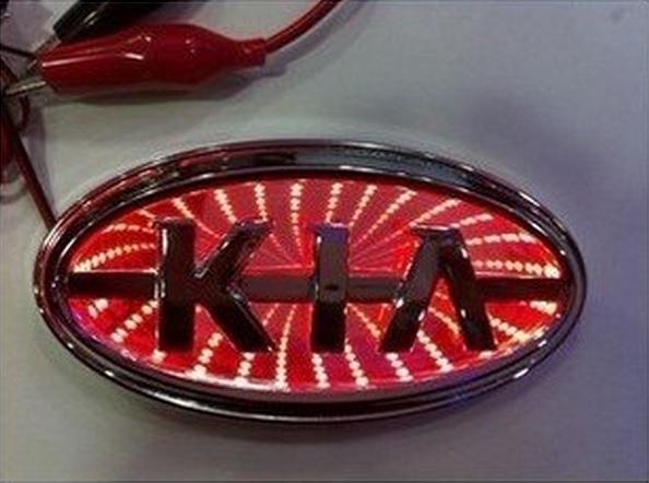 3D СВЕТОДИОДНАЯ ПОДСВЕТКА ЭМБЛЕМЫ ЛОГОТИПА KIA (4185409250) - купить на торговой площадке,интернет-аукционе Молоток.Ру