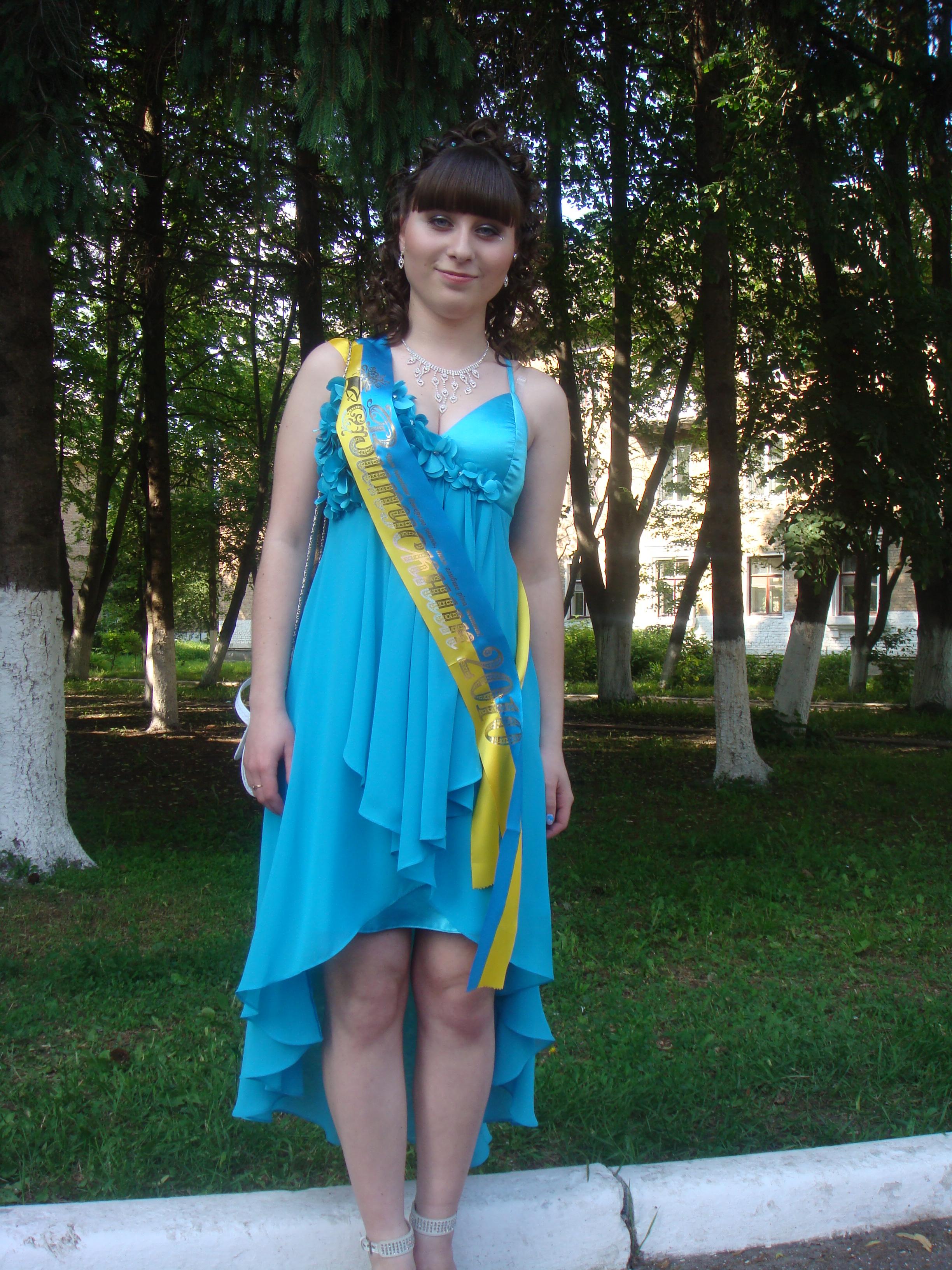 Выпускное платье. ByvEV