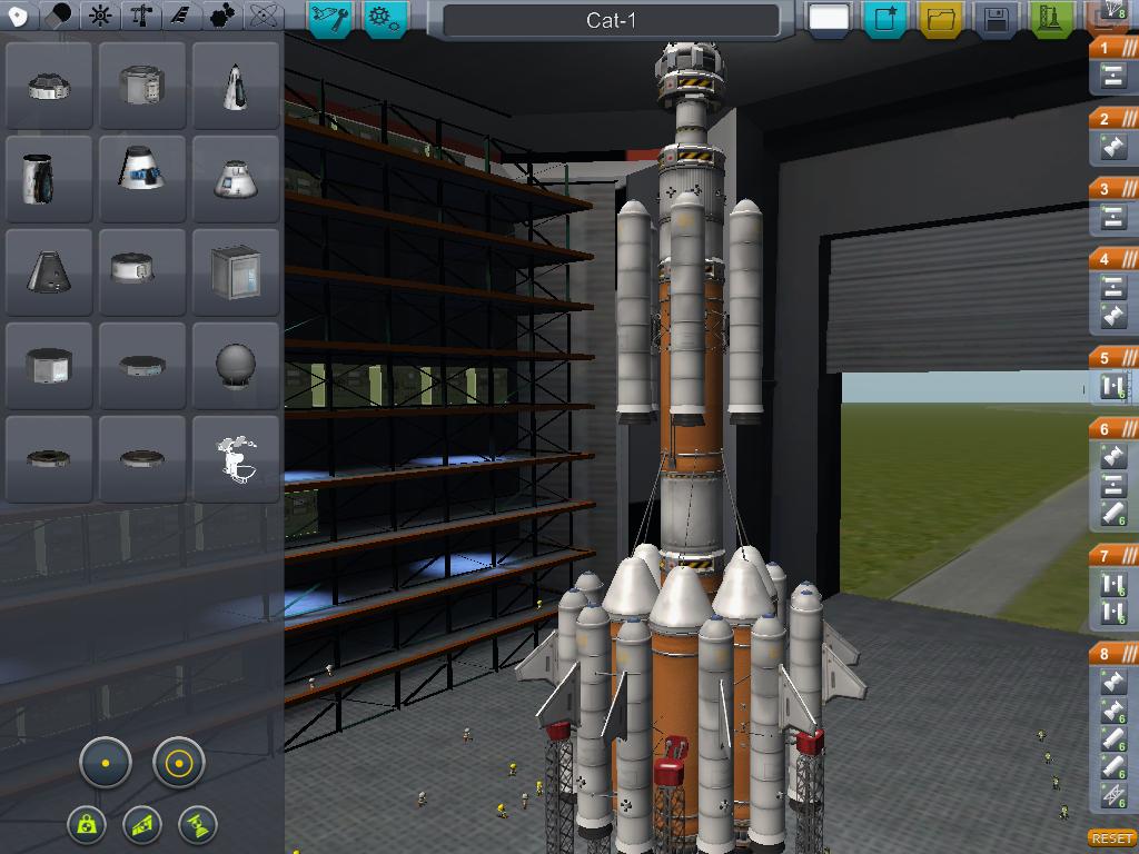 Моя четырехступенчатая ракета