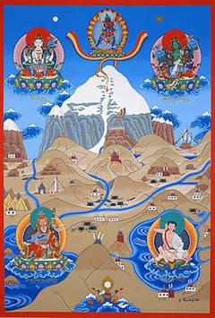 Мировые Горы восточных и европейских мифологий