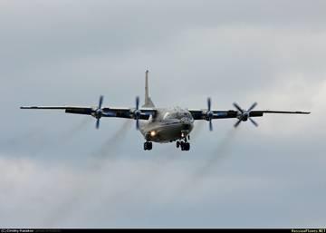 Ан-12ПС - поисково-спасательный самолет ShW7g